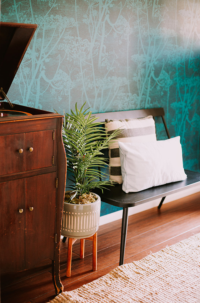 The Bam House Becca Mendez Los Angeles interior design styling entry